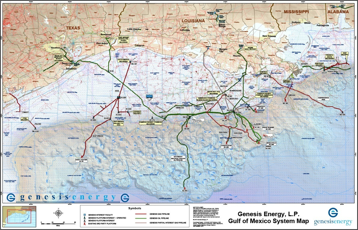 Offshore Pipeline Transportation Genesis Energy